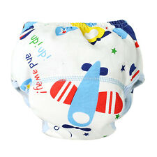 Adjustable Lot Baby Cotton Training Pants Reusable Cloth Diaper Washable Nappies