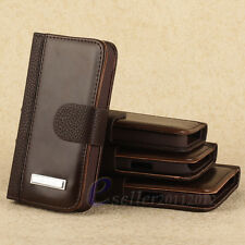 New Leather Flip Stand Money Wallet Pouch Stand Magnetic Hard Skin Case Cover