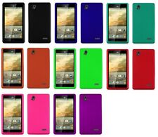 Screen Protector + Hard Snap on Case Phone Cover for ZTE Warp Elite N9518