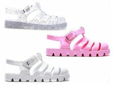 JUJU NINO TODDLER GIRLS JELLY JELLIES SUMMER SANDALS SHOES SIZES 10 - 13 SECONDS
