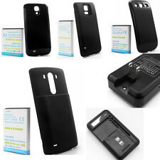 Li-ion Battery With Black Back Cover+Dock Charger Fr Samsung Galaxy Note 1 2 3 4