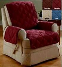 ITS WING CHAIR RECLINER PET KIDS SLIP COVER PROTECTOR MICROFIBER - CHOOSE COLOR