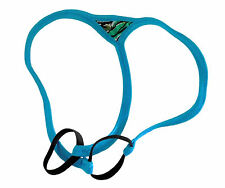 Mens G String Thong SPIDER ENHANCER Double Ring BREEZY BLUE made USA 1 day ship