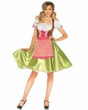 CL677 Darling Greta Oktoberfest Costume Bavarian German Heidi Dirdnl Beer Wench