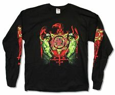 "SLAYER ""UNHOLY GUARDS"" BLACK LONG SLEEVE T-SHIRT NEW OFFICIAL EAGLE BAND ADULT"