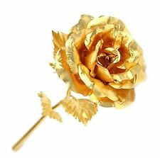 2017 New Creative Valentine's Day Gift 24K Gold Plated Rose Flower Decoration BD
