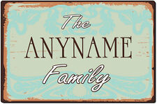 Personalized and Custom Made Wall Plaque with Your Name - God Bless Our Home