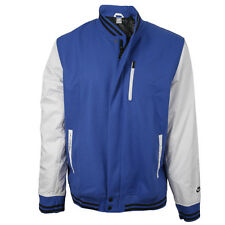 Nike Mens Wool Tech Destroyer Jacket - Royal Blue / White rrp£120