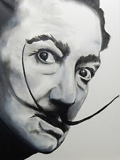 Buy Art For Less Salvador Dali by Ed Capeau Painting Print on Wrapped Canvas