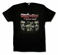 """GHOST BROTHERS OF DARKLAND COUNTY """"HORROR"""" BLACK T-SHIRT NEW OFFICIAL ADULT"""