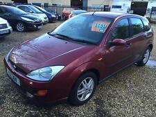 Ford Focus 1.6i 16v 2001.25MY Zetec