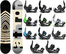 Snowboard Pathron Legend Black Carbon Camber + Bindings Raven M/L or L - New!