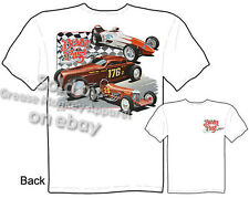 Hot Rod Clothing Automotive Tshirt Vintage Car Shirts Racing Dragster Bonneville