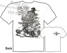 Rat Fink Shirts Big Daddy Clothing Ed Roth T Shirts Chopper Plays With Hogs Tee