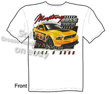 Mustang T Shirts Ford T Shirt Mustang Apparel Muscle Car Clothing 302 Boss Tee
