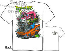 Chevy Shirt Ratfink T Shirts Big Daddy Clothing Chevrolet Apparel Ed Roth 1957