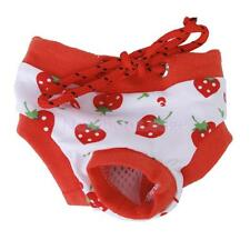 Cute Female Pet Puppy Dog Physiological Sanitary Diaper Pants Panty Briefs S--XL