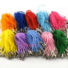 50Pcs Mobile Phone Dangle Strap String Thread Cord 11Colors-1 Or Mixed P1001