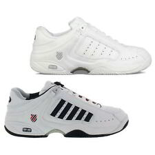 K Swiss Defier RS Mens White Leather Tennis Trainers Shoes