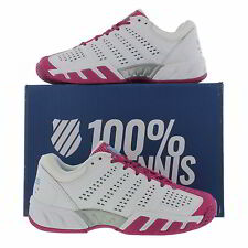 K Swiss Bigshot Light 2.5 Womens White Tennis Trainers Shoes