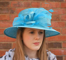 Big Brim Wedding Hat Ladies Day Hat Mother of the Bride Failsworth ***RRP £58