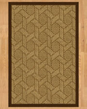 Natural Area Rugs Seattle Hand Crafted Brown Area Rug