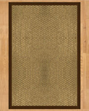 Natural Area Rugs Preston Hand Crafted Brown Area Rug