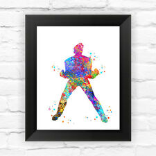 Dignovel Studios Two Face Watercolor Framed Graphic Art