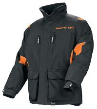 Arctic Cat Men's Boondocker Snowmobile Coat Jacket - Orange - New - 5230-46_