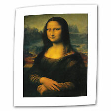 ArtWall Mona Lisa by Leonardo Da Vinci Painting Print on Rolled Canvas