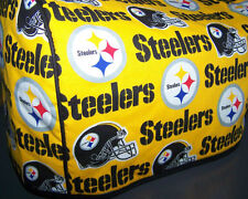 Pittsburgh Steelers Logo Quilted Fabric 2-Slice or 4-Slice Toaster Cover NEW