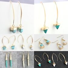 Fashion Turquoise Dangle Earrings Hook Jewelry 1Pair Party Prom Women Girls Gift