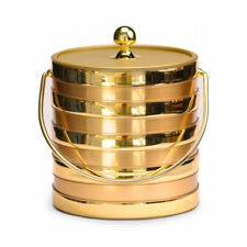 Mr Ice Bucket Brushed Barrel Ice Bucket