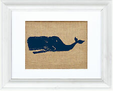 Fiber & Water Sperm Whale Framed Graphic Art