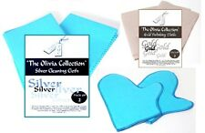 TOC Gold Silver Jewellery Cleaning & Polishing Cloths Mitts - Gloves