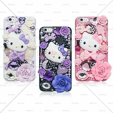 LuxuryCrystal Fantasy Fairy Kitty Handmade Case Cover for iPhone 6 and 6 Plus