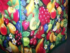 Luscious Fruit Quilted Fabric 2-Slice or 4-Slice Toaster Cover NEW