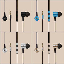 3.5mm Piston In-Ear Earbuds Earphone Headphone Stereo Headset For Samsung Xiaomi