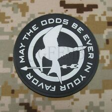 The Hunger Games may the odds be ever in your favor Morale 3D PVC Patch