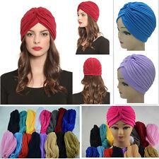 Pop Girls Indian Style Slouch Hat Cap Stretchable Turban Hair Head Wrap Headwrap