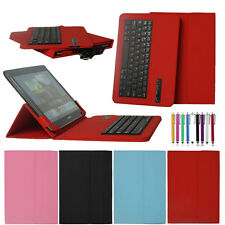 "Universal Removeable Bluetooth Keyboard Cover Case For 9"" 10"" 10.1"" inch Tablet"
