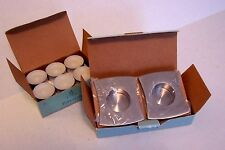 PartyLite Studio Square Tealight Holders Plus 12 White Tealights Unscented NIB