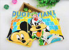 5pcs lovely mickey cartoon Children's boys underwear cartoon boy C-16