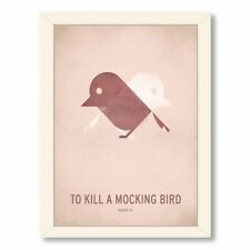 To Kill a Mocking Bird Minimal by Christian Jackson Framed Graphic Art