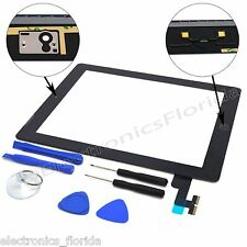 Touch Screen Digitizer Replacement Apple iPad 2 With Home Button Black / White