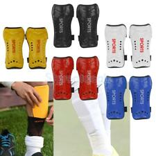 FOOTBALL SOCCER SHINPADS Shin Pads GuardS Protector Strap KIDS BOYS YOUTH ADULT