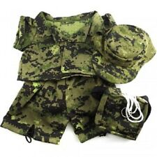 Bear Clothing Special Forces Camos Outfit teddy clothes to fit 15