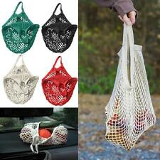 Turtle Bag ORGANIC COTTON STRING/NET SHOPPING Tote Reusable Mesh Storage Handbag