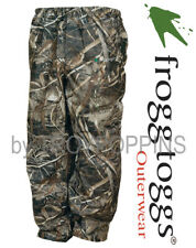 FROGG TOGGS RAIN GEAR-PA83102-56 PRO ACTION PANTS MAX-5 HD CAMO HUNTING WET WEAR