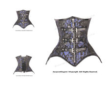 Double Steel Boned Waist Training Brocade Underbust Corset #HC8569(BRO)